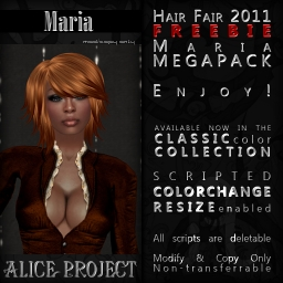 Alice Project Hair - Maria